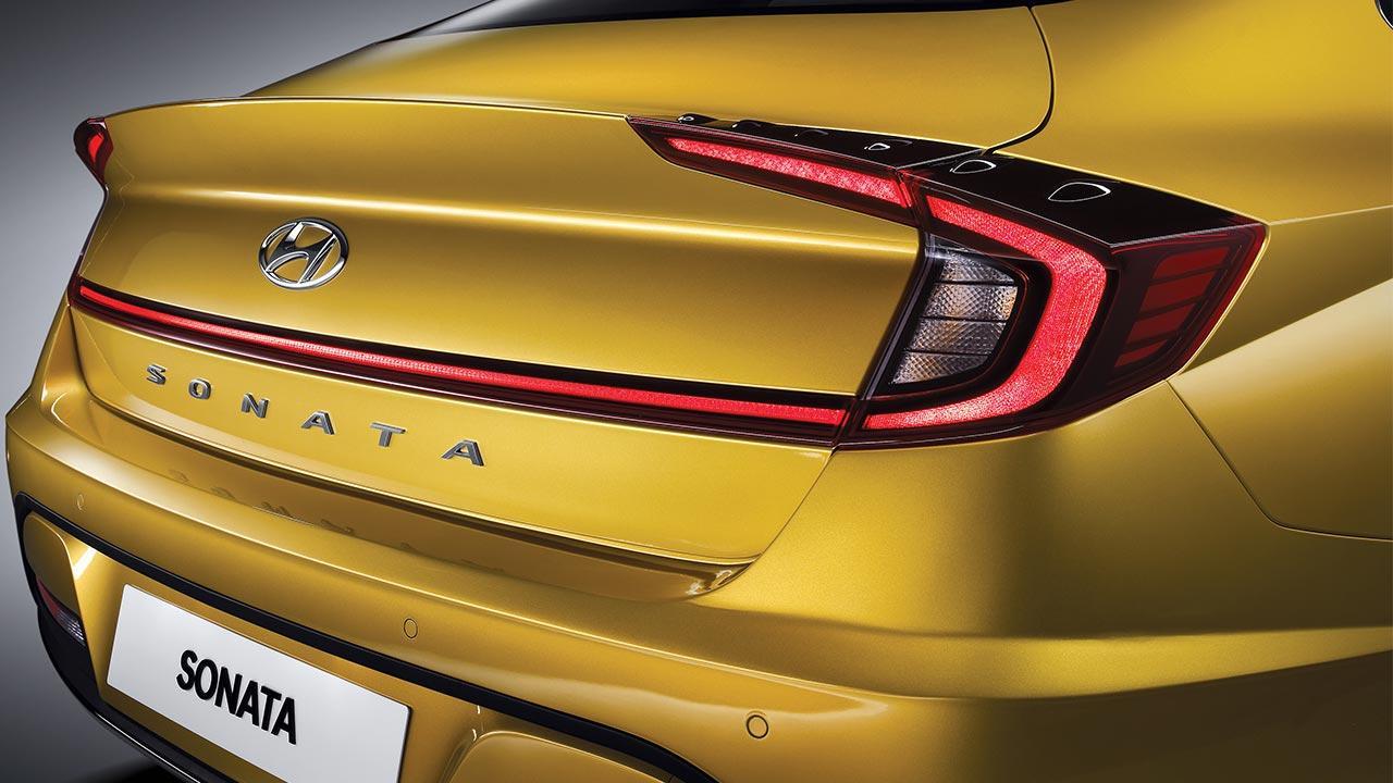 Hyundai Sonata - Heck