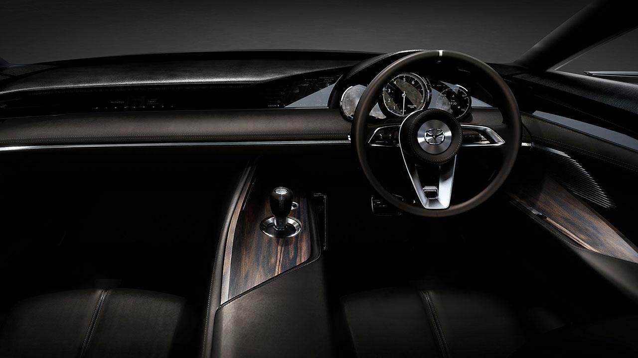 Mazda Vision Coupe Concept - Cockpit
