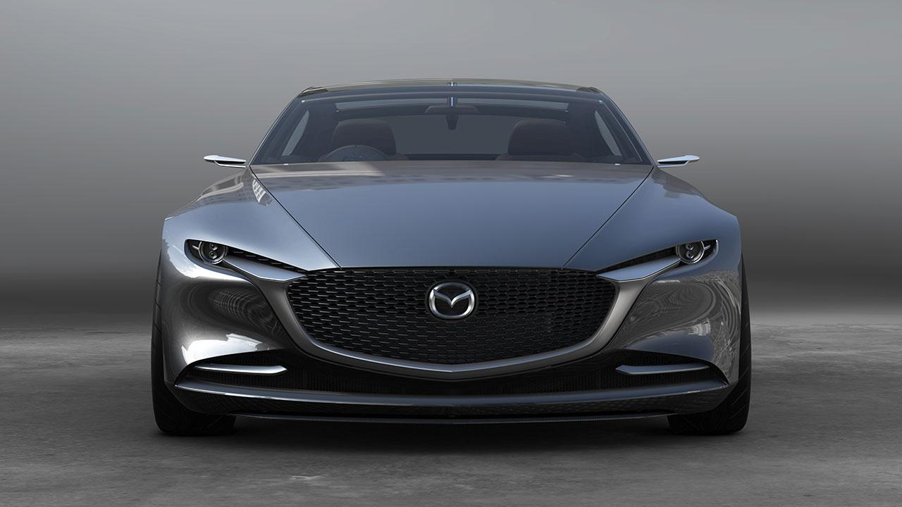 Mazda Vision Coupe Concept - Frontansicht