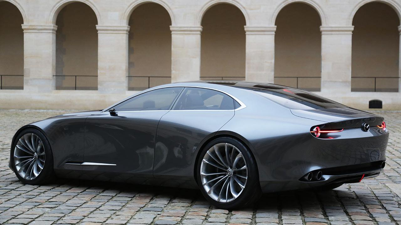 Mazda Vision Coupe Concept - Heckansicht