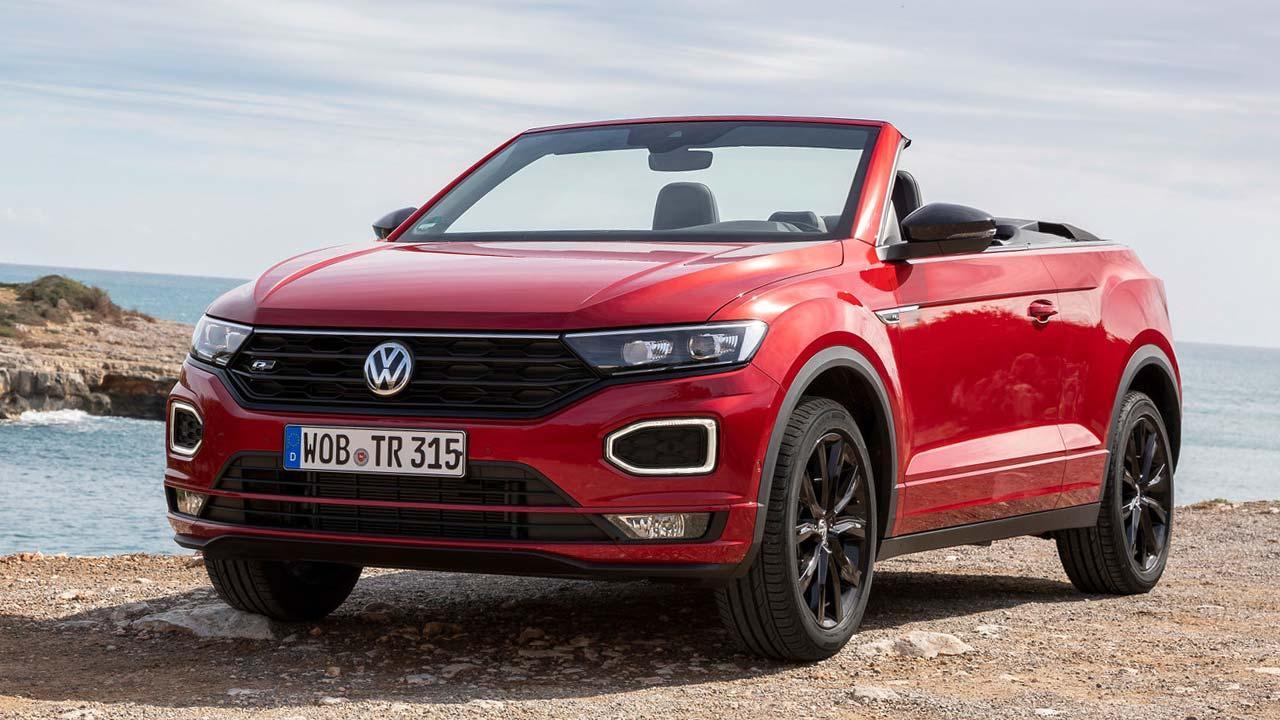 Volkswagen T-Roc Cabriolet R-Line - Frontansicht