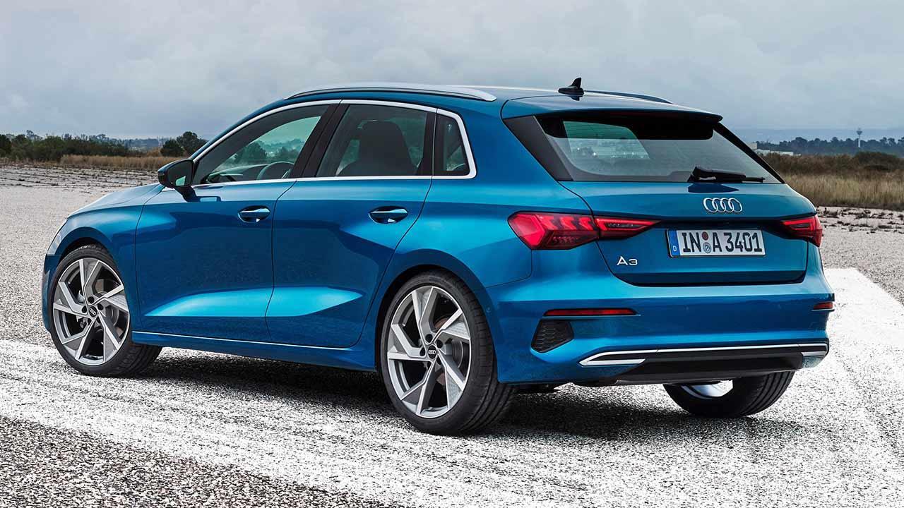 Audi A3 Sportback - Heckansicht