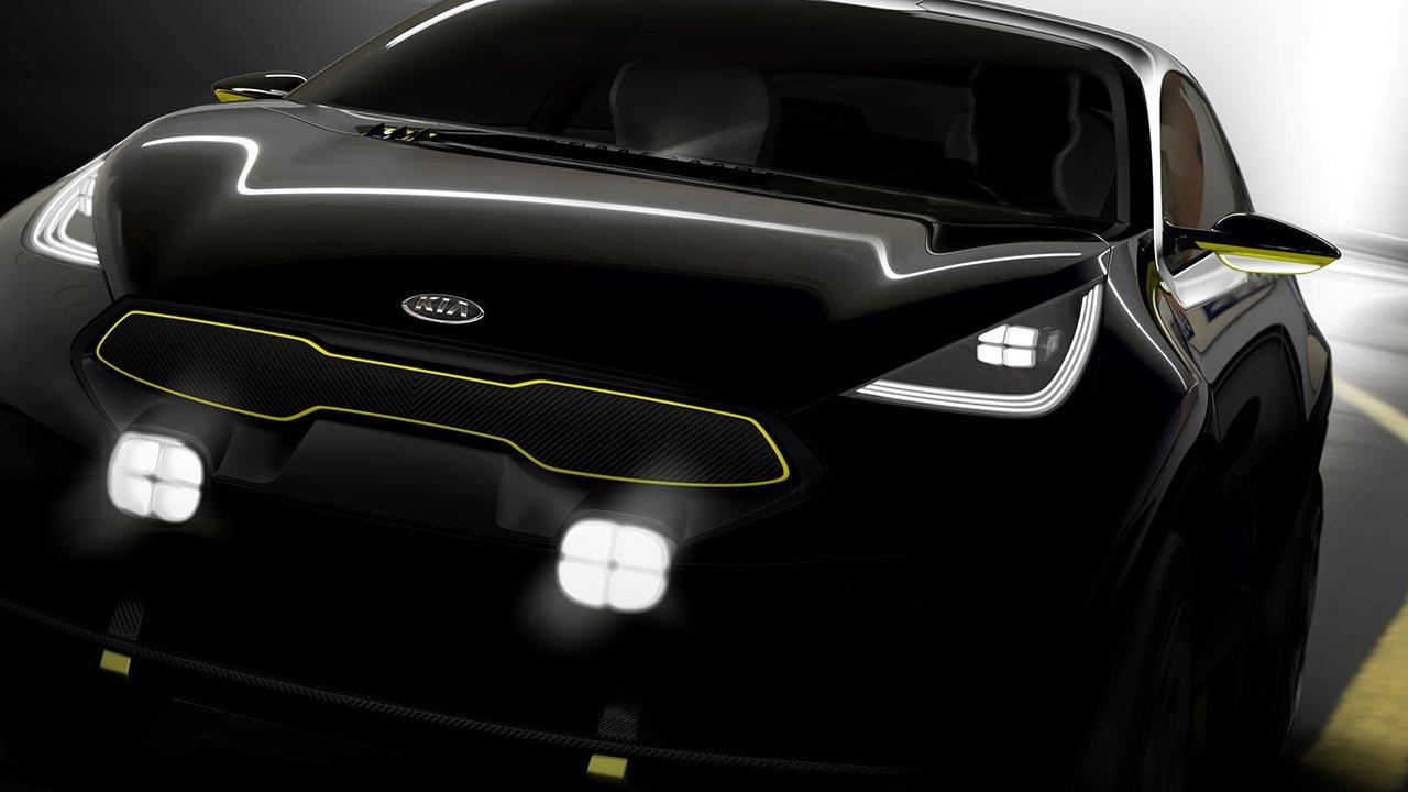 Kia Niro Concept - Front