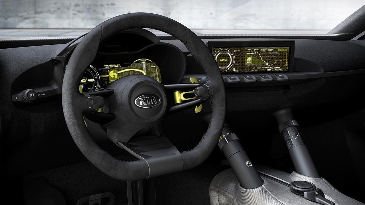 Kia Niro Concept - Cockpit