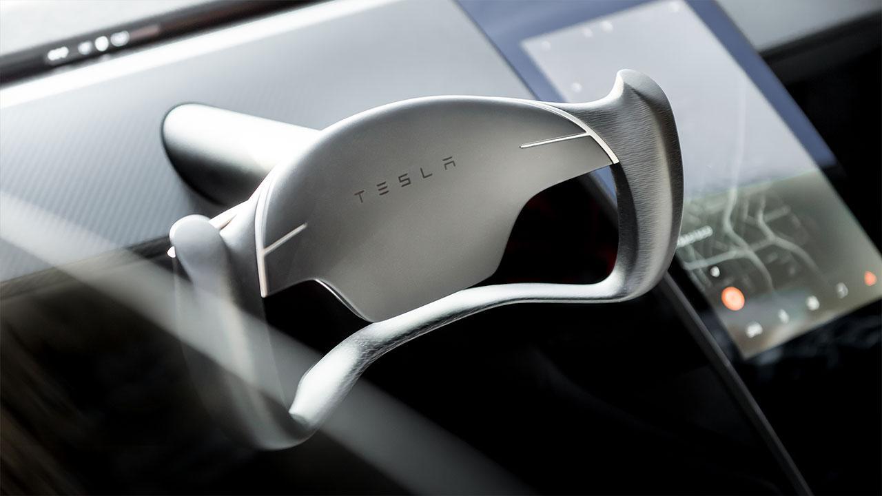 Tesla Roadster - Cockpit