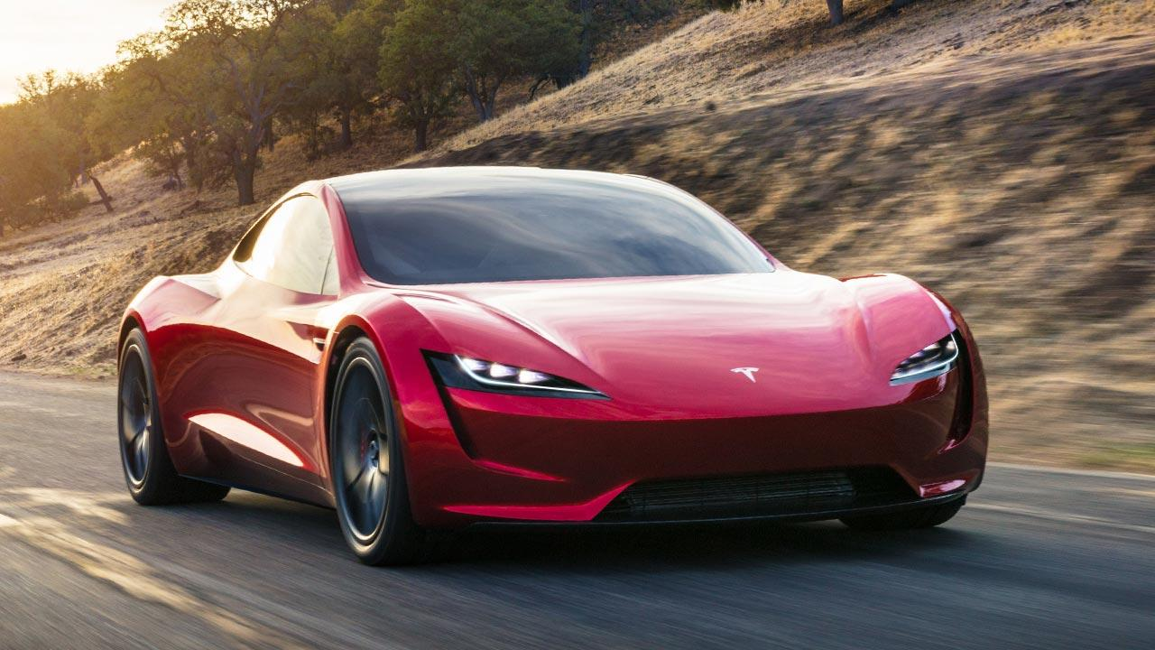 Tesla Roadster - Frontansicht