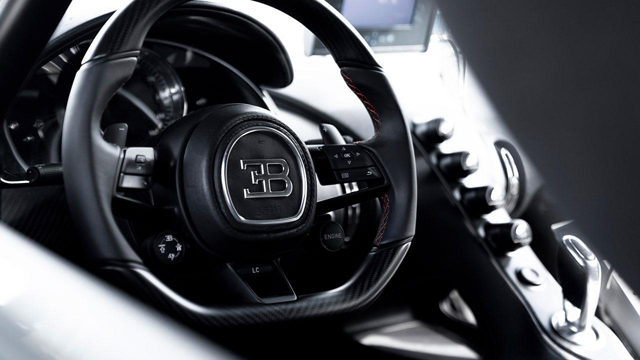 Bugatti Chiron Super Sport 300+ - Cockpit