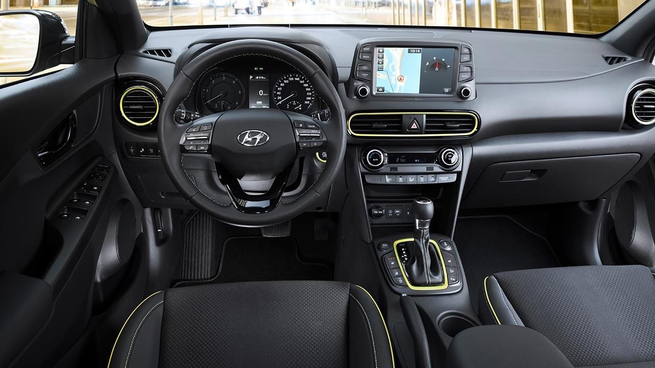 Hyundai Kona - Cockpit