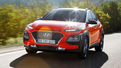 Hyundai Kona - in voller Fahrt