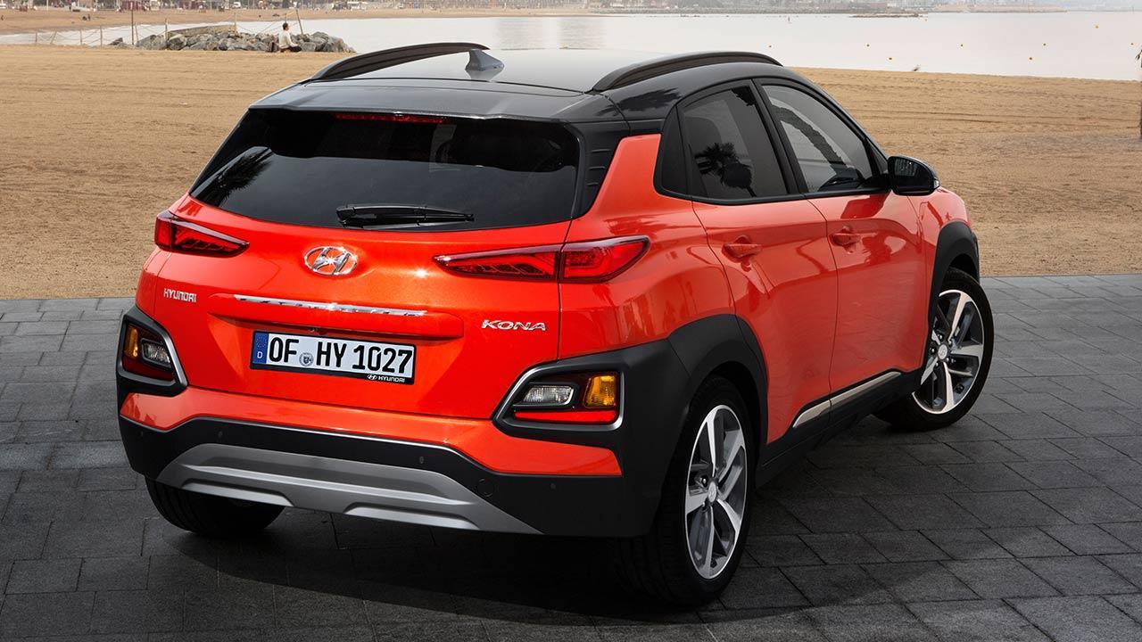 Hyundai Kona - Heckansicht