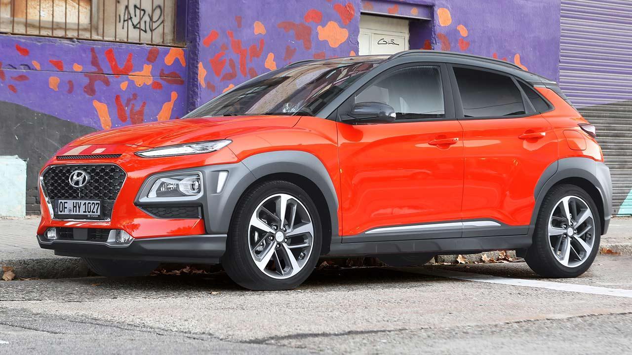 Hyundai Kona - Seitenansicht