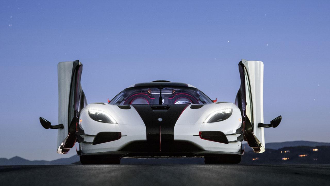 Koenigsegg One:1 - Frontansicht