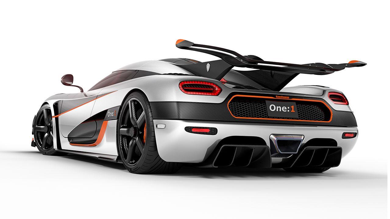 Koenigsegg One:1 - Heckansicht