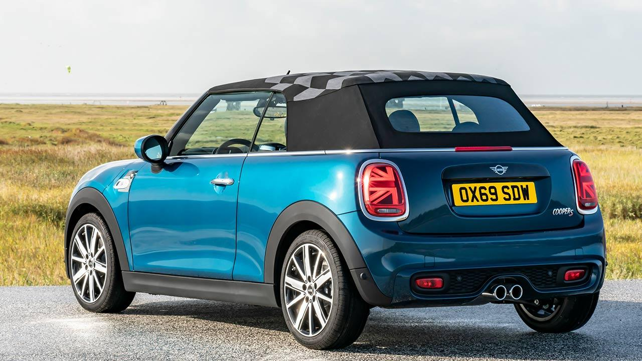 MINI Sidewalk Convertible - Heckansicht