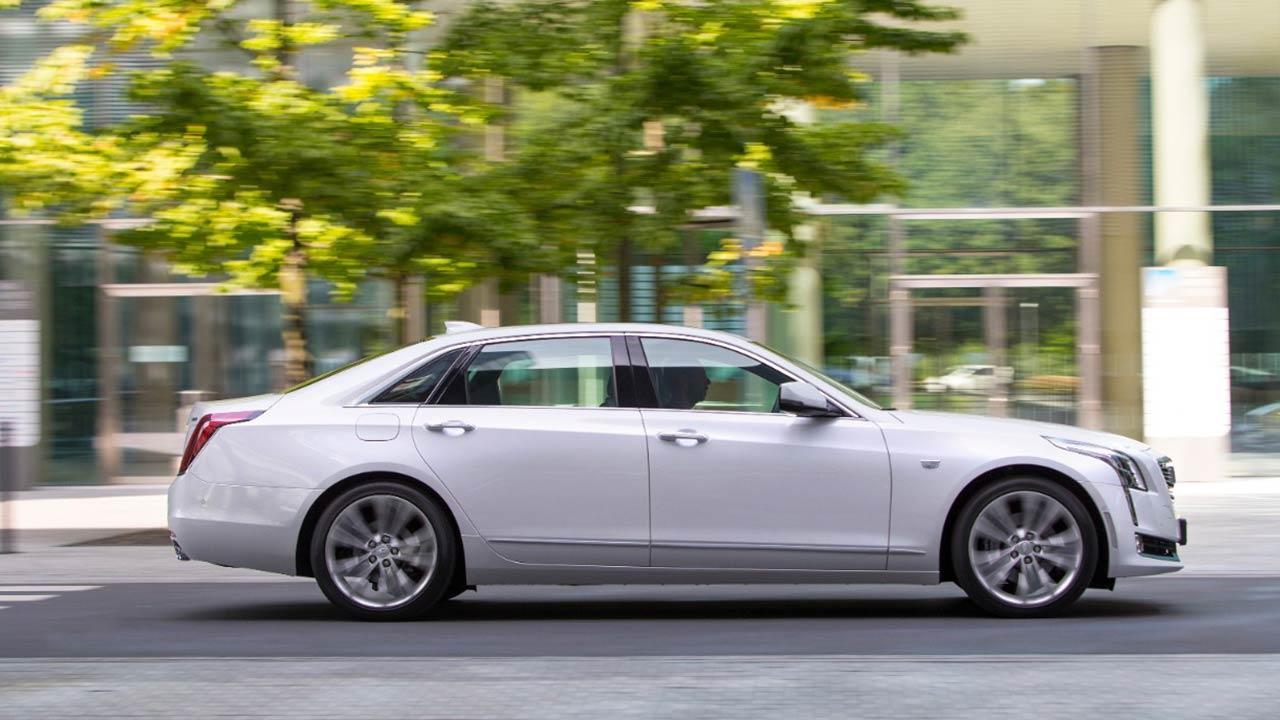 Cadillac CT6 - in der Stadt