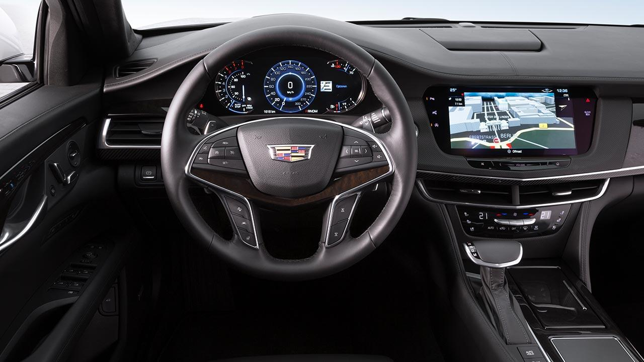 Cadillac CT6 - Cockpit