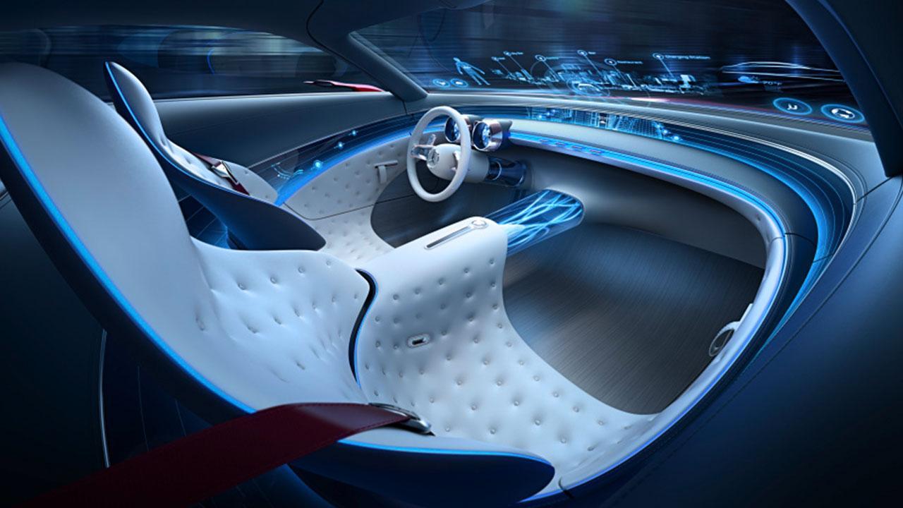 Vision Mercedes-Maybach 6 - Cockpit