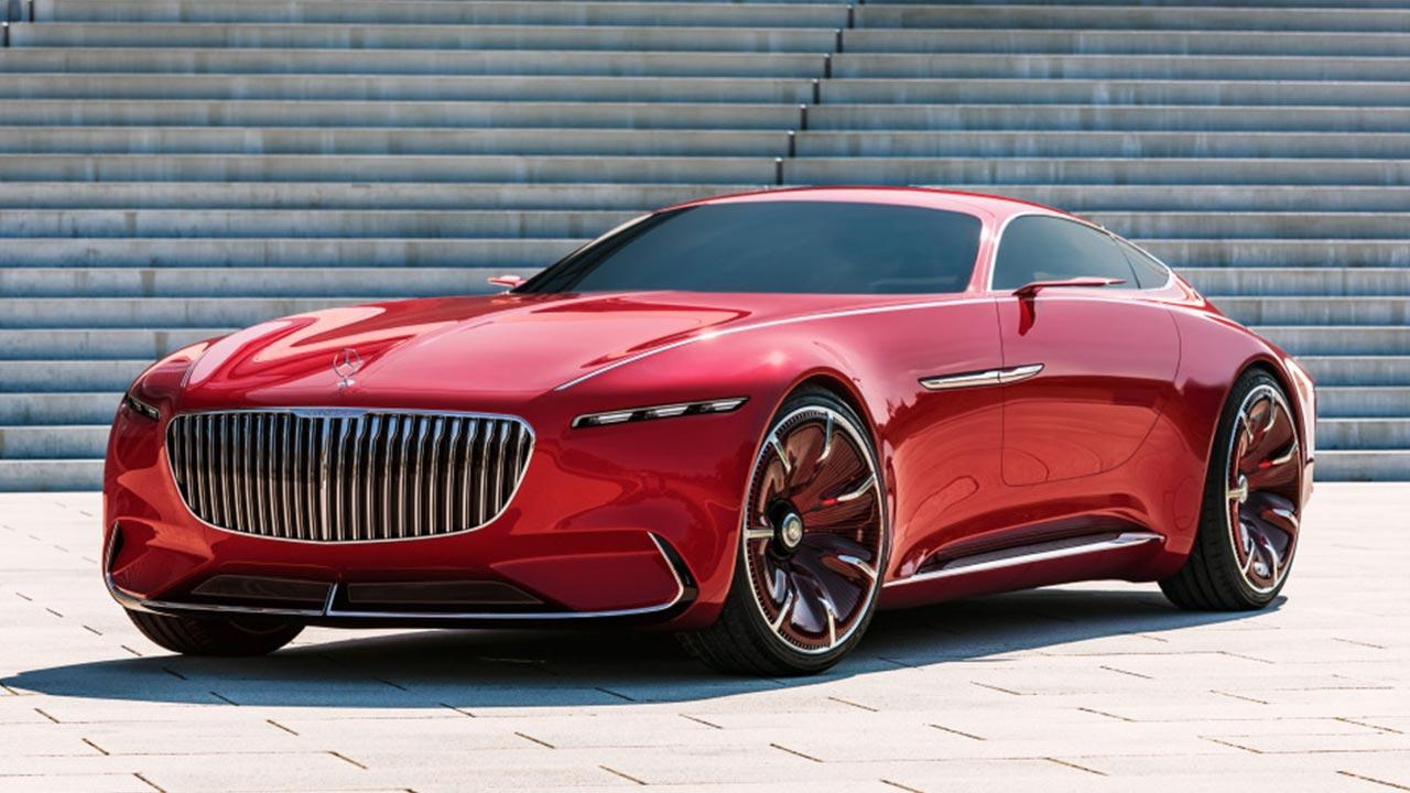 Vision Mercedes-Maybach 6 - Frontansicht