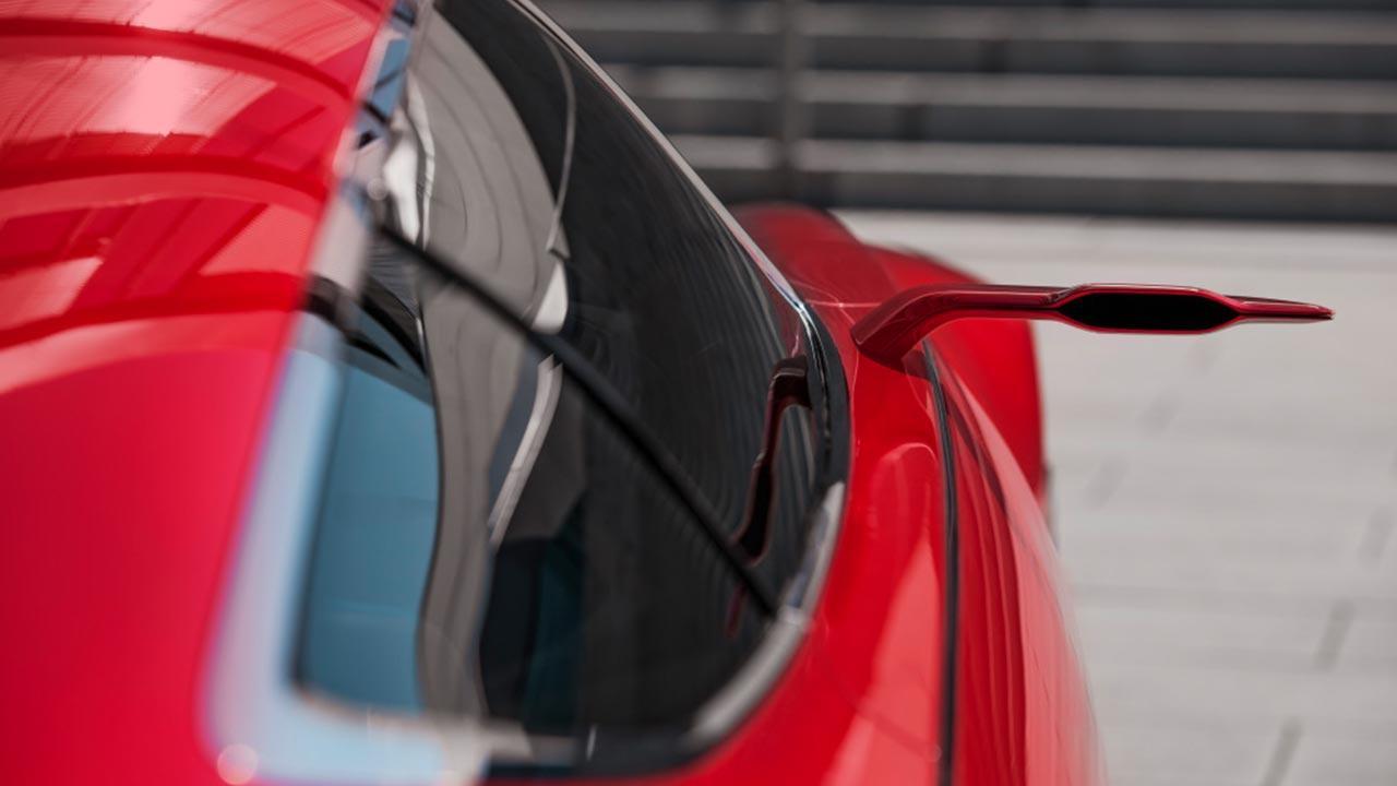 Vision Mercedes-Maybach 6 - Rückspiegel