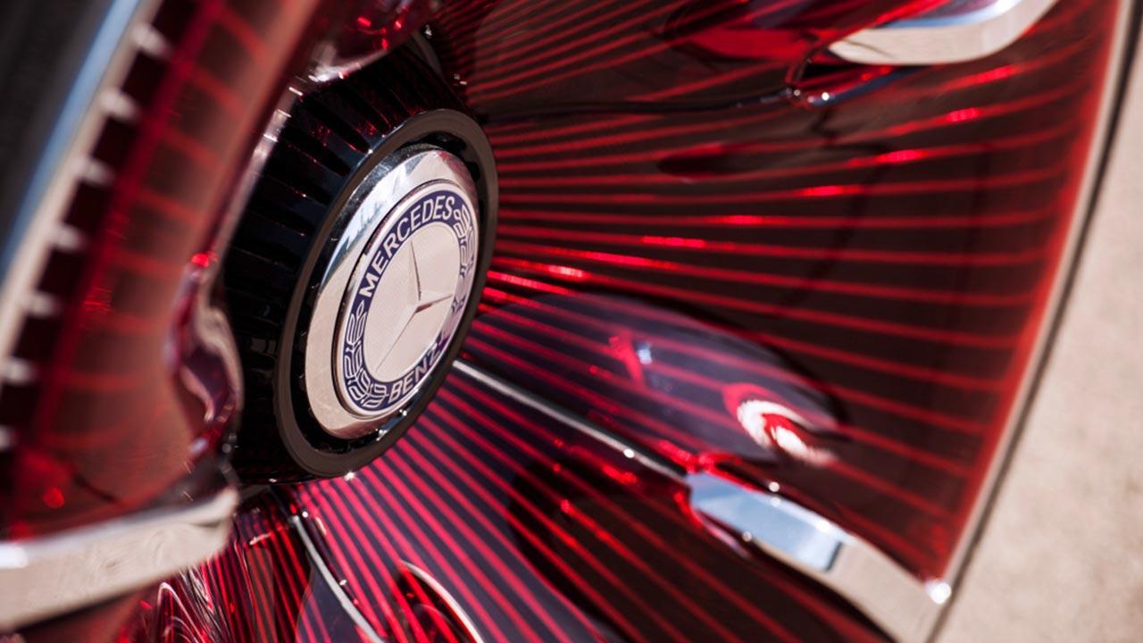 Vision Mercedes-Maybach 6 - rote Felgen