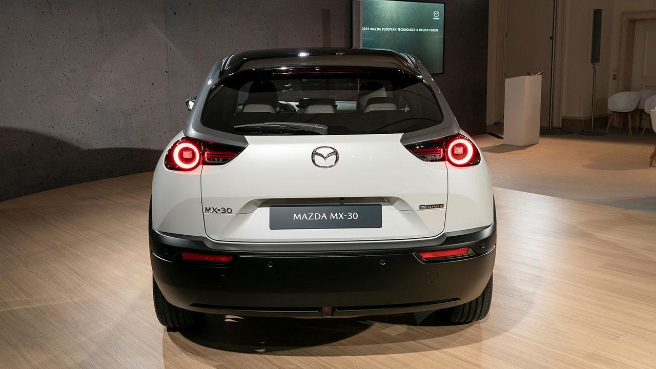 Mazda MX-30 - Heckansicht
