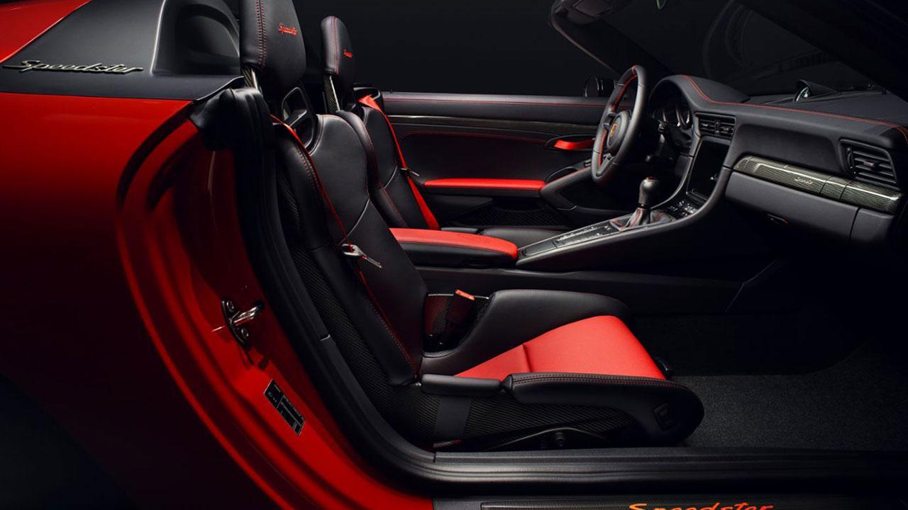 Porsche 911 Speedster - Cockpit