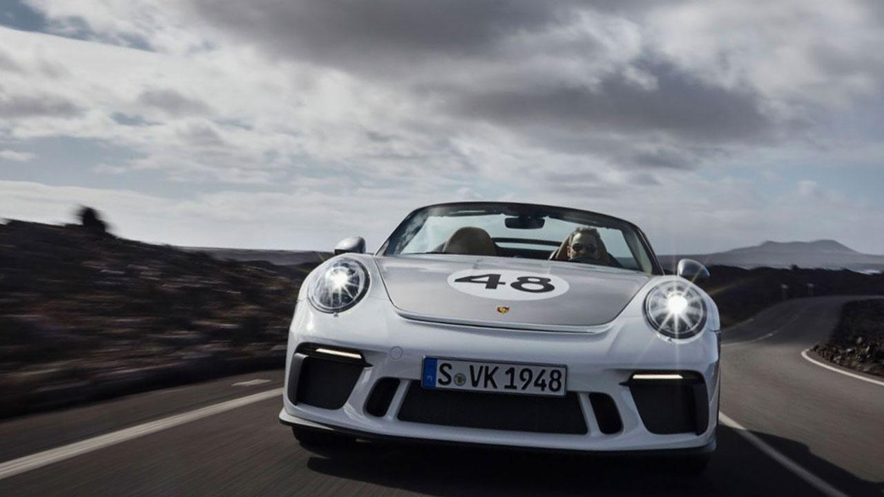 Porsche 911 Speedster - Frontansicht
