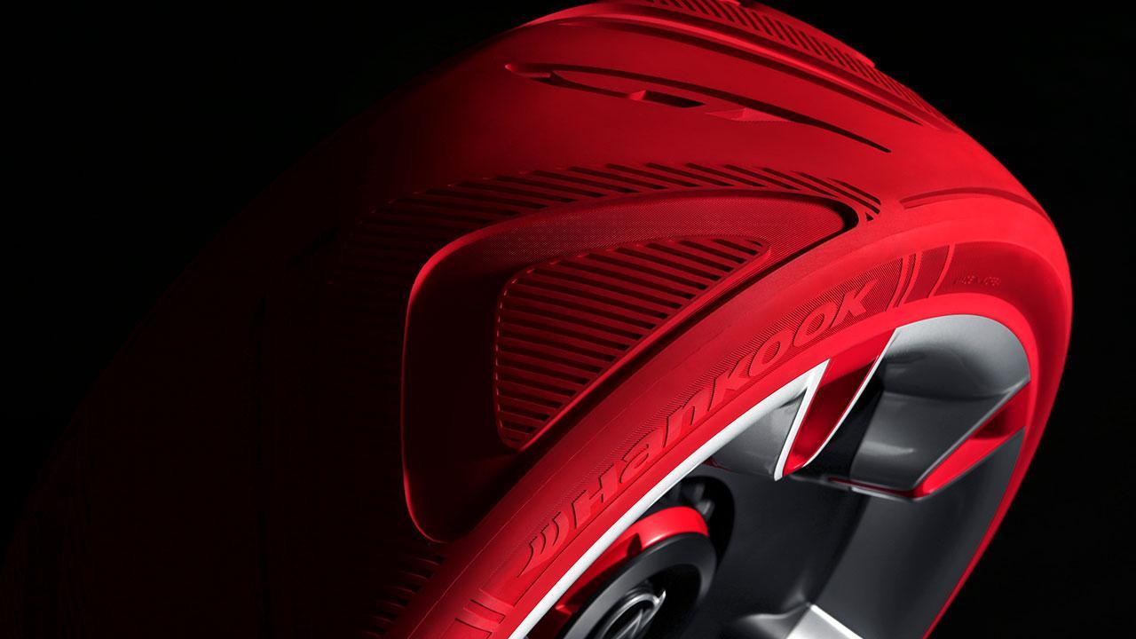 Opel GT Concept - roter Reifen