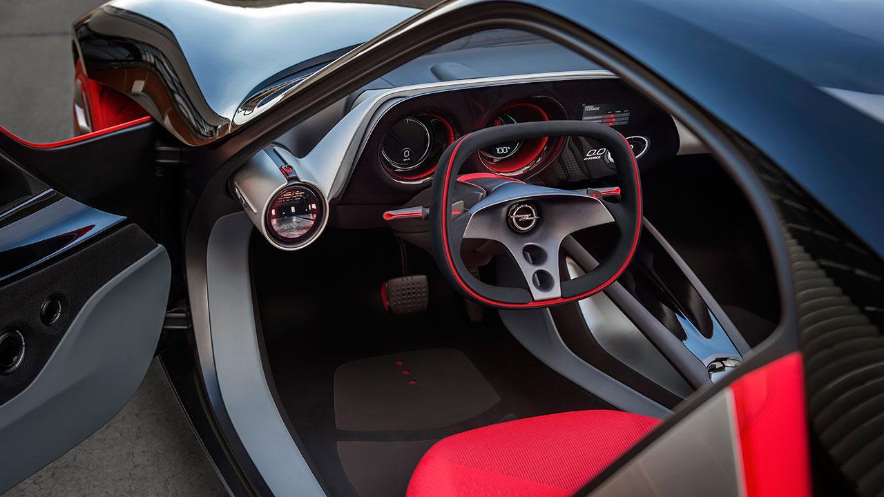 Opel GT Concept - Cockpit