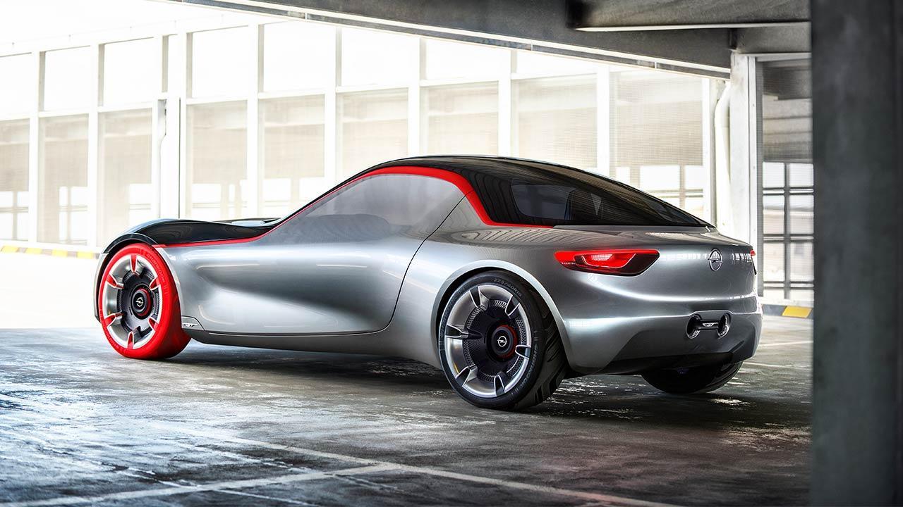 Opel GT Concept - Heckansicht