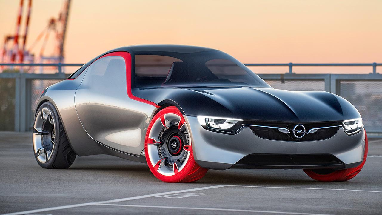 Opel GT Concept - Frontansicht