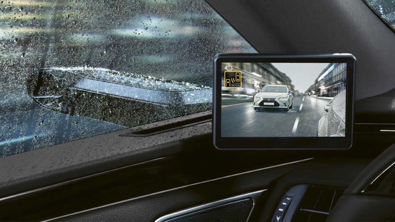 Lexus ES 300H - Bildschirm für Rückkamera