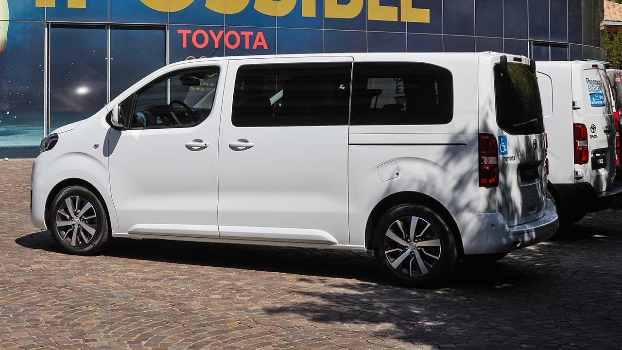 Toyota Proace City - Seitenansicht