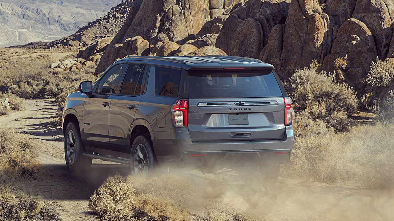 Chevrolet Tahoe - durch die Wüste
