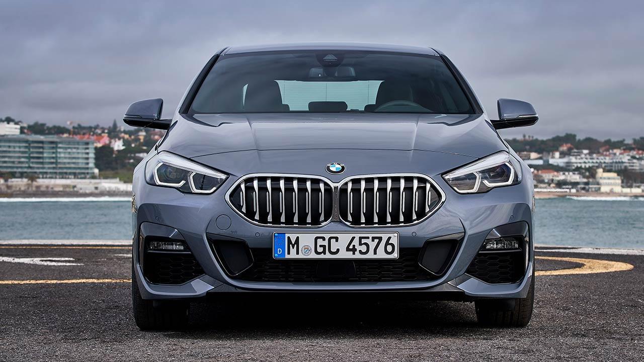 Das erste BMW 2er Gran Coupé - Frontansicht