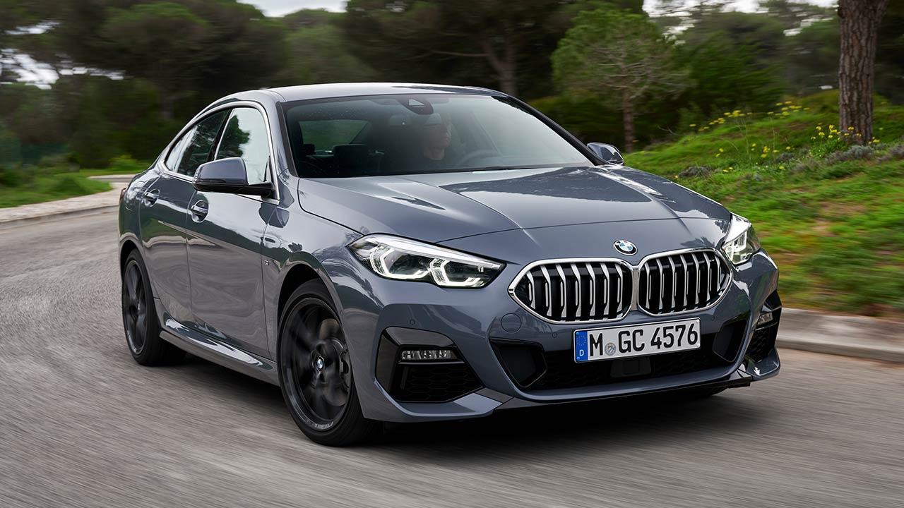 Das erste BMW 2er Gran Coupé - in voller Fahrt