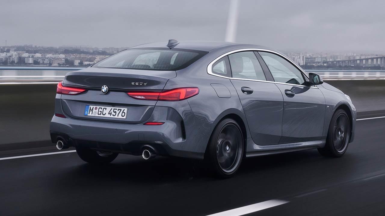 Das erste BMW 2er Gran Coupé - seitliche Heckansicht
