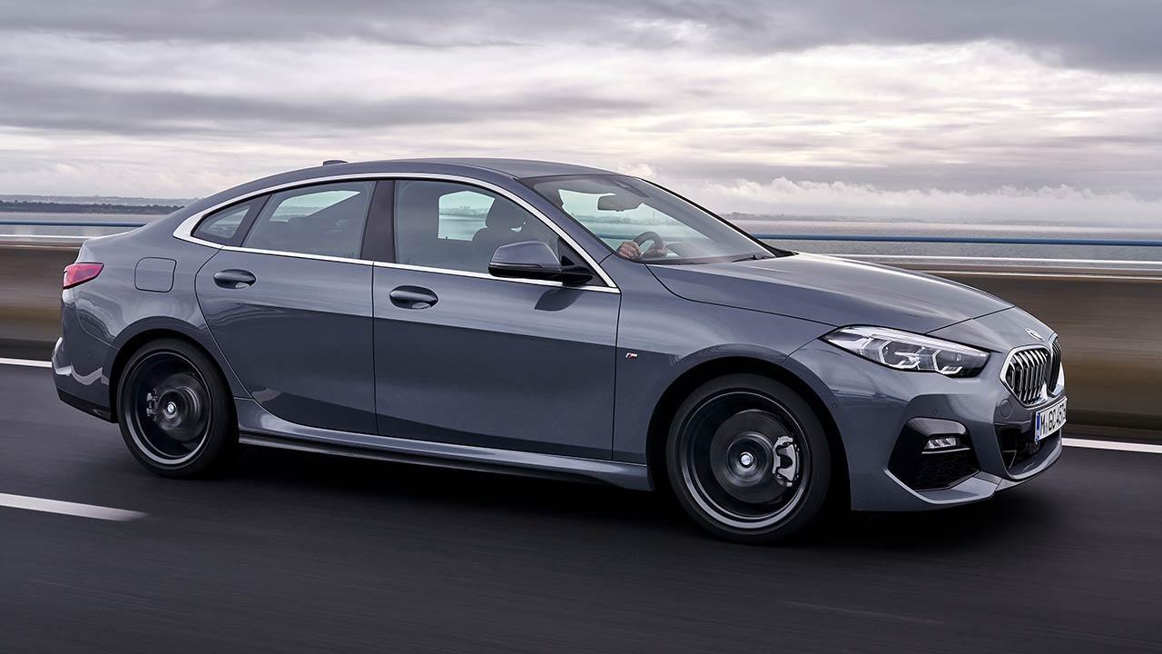 Das erste BMW 2er Gran Coupé - Seitenansicht