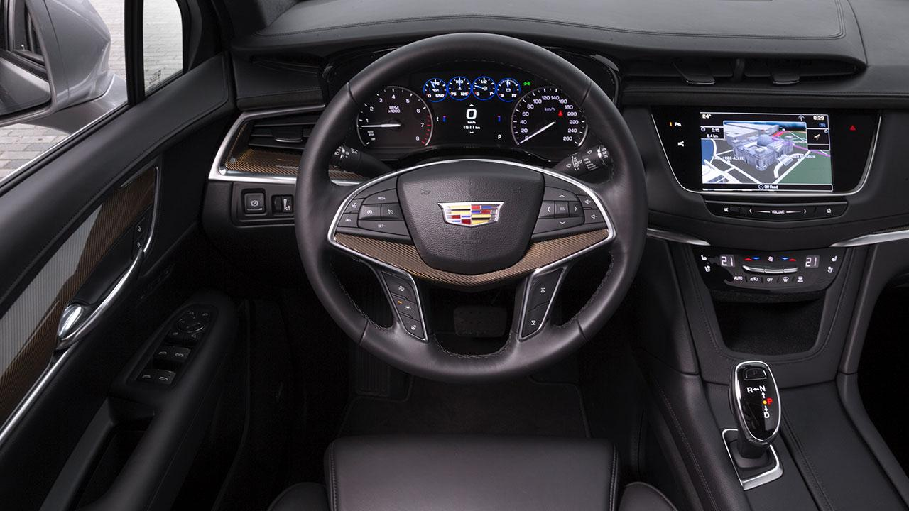 Cadillac XT5 - Cockpit