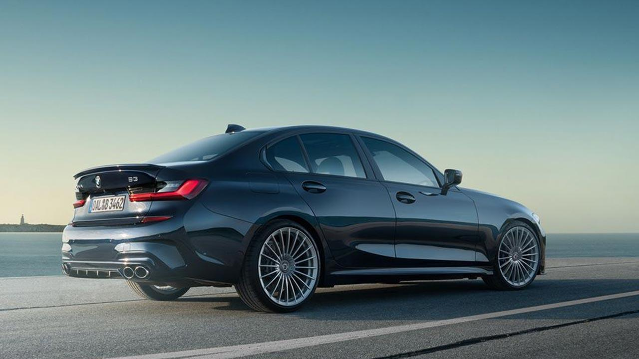 BMW ALPINA B3 Saloon - Seitenansicht