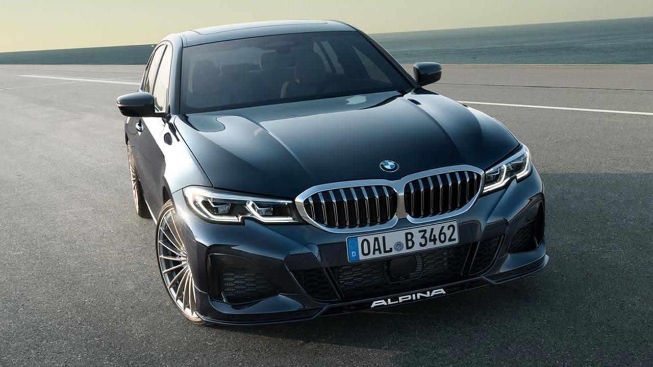 BMW ALPINA B3 Saloon - Frontansicht