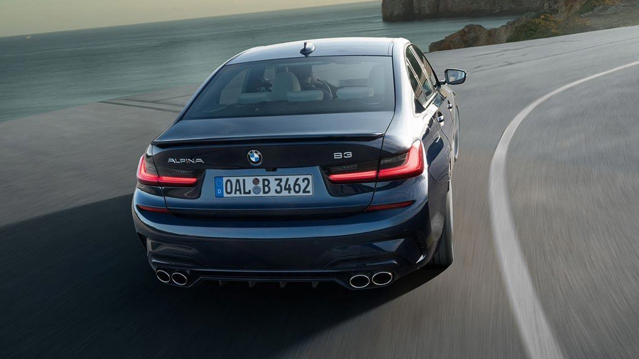 BMW ALPINA B3 Saloon - Heckansicht