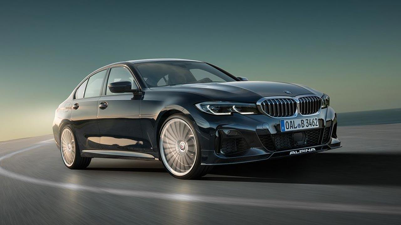 BMW ALPINA B3 Saloon - in voller Fahrt