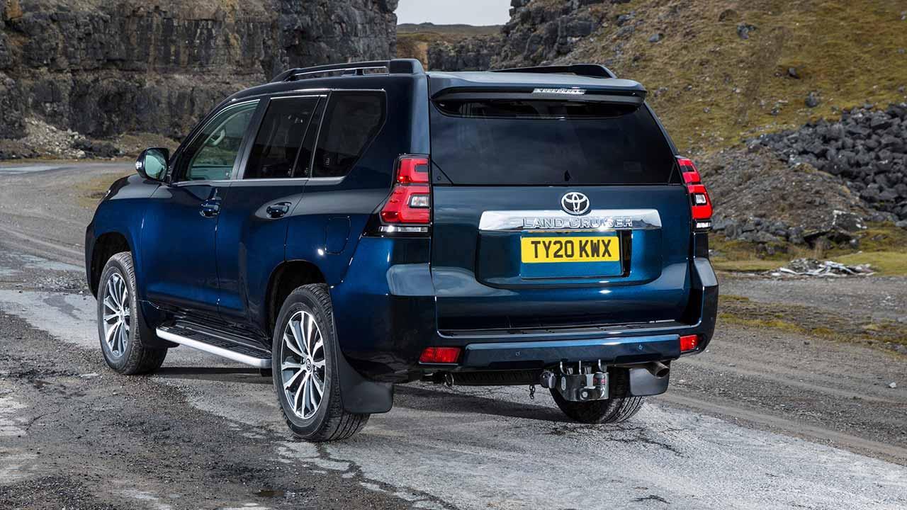 Toyota Land Cruiser - Heckansicht