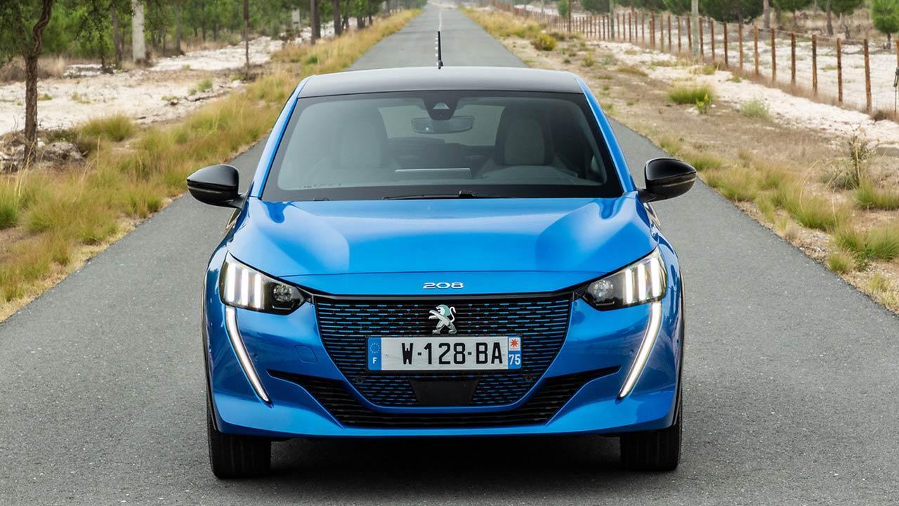 Peugeot e208 - Frontansicht