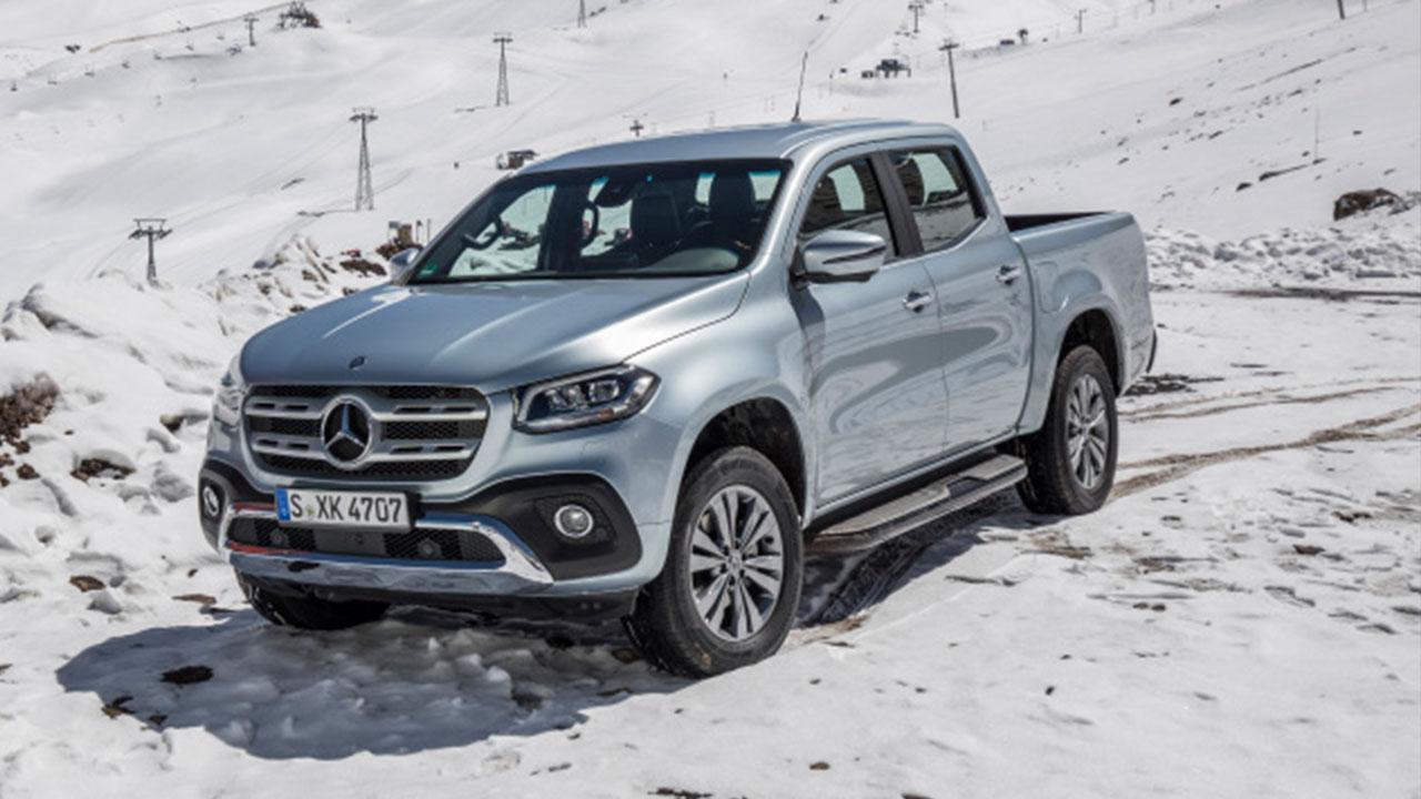 Mercedes-Benz X-Klasse - im Schnee