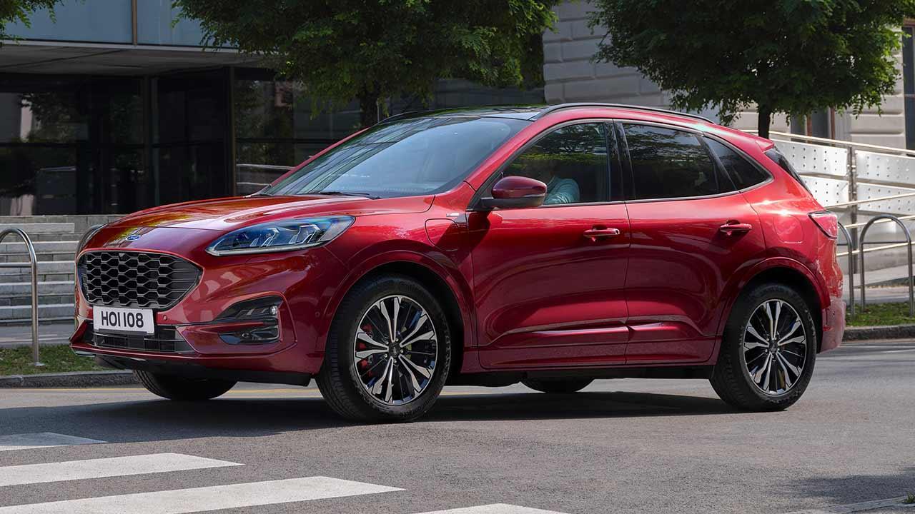 Neuer Ford Kuga - Seitenansicht