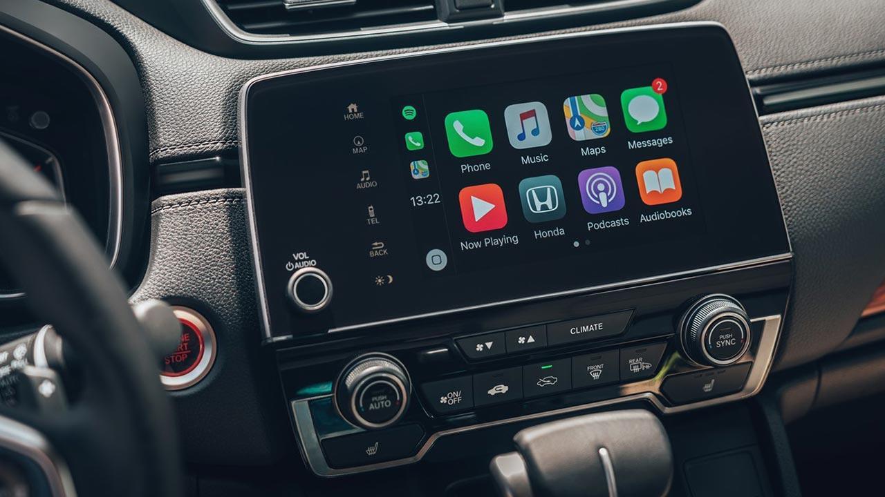 Honda CR-V - Mulitmedia Kontrolle