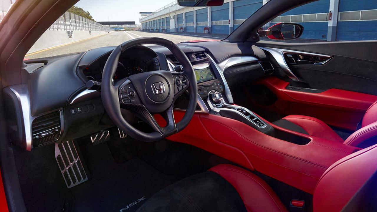 Honda NSX - Cockpit