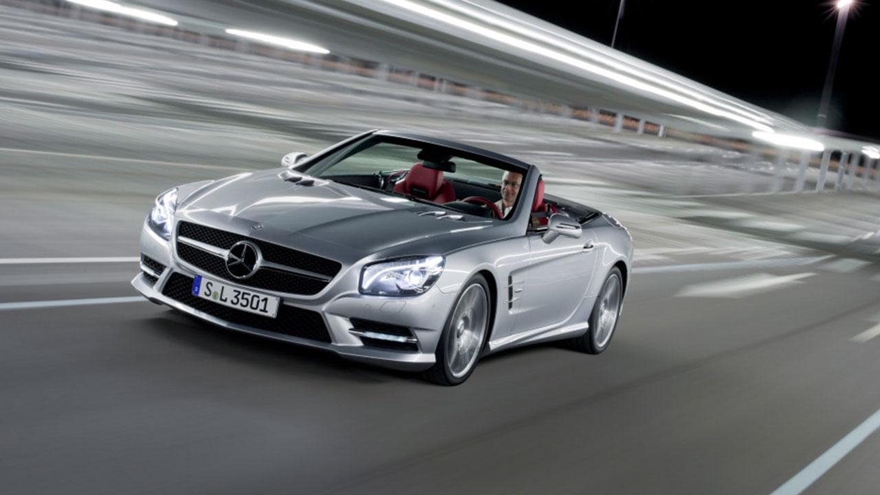 Mercedes-Benz SL-Klasse - auf der Rennstrecke